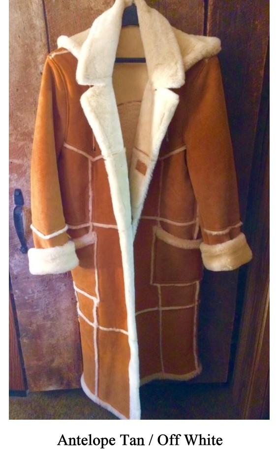 e80d284cfe2 Men's Full Length Johnny Shearling Sheepskin Coat