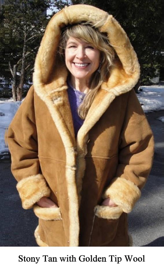 9bd79dcff6e Lisa Women's Shearling Sheepskin Coat 3/4 Length