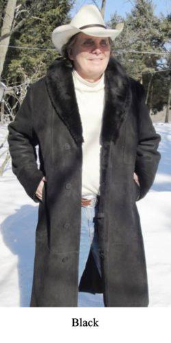 Men S Shearling Sheepskin Coats Jackets Sickafus Sheepskins