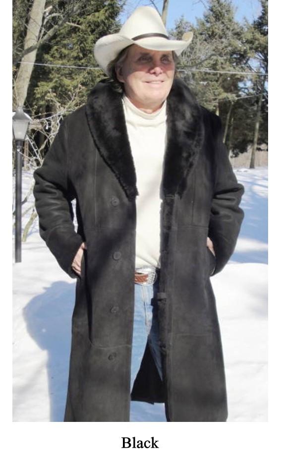 Mens Sheepskin Coat >> Montana Men S Shearling Sheepskin Coat
