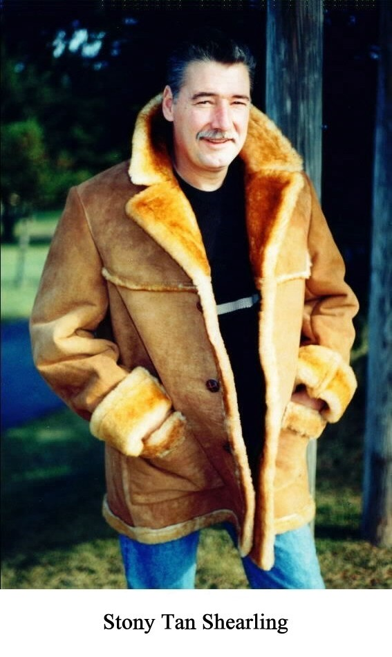 30790d9326a Steve Men's Shearling Sheepskin Coat