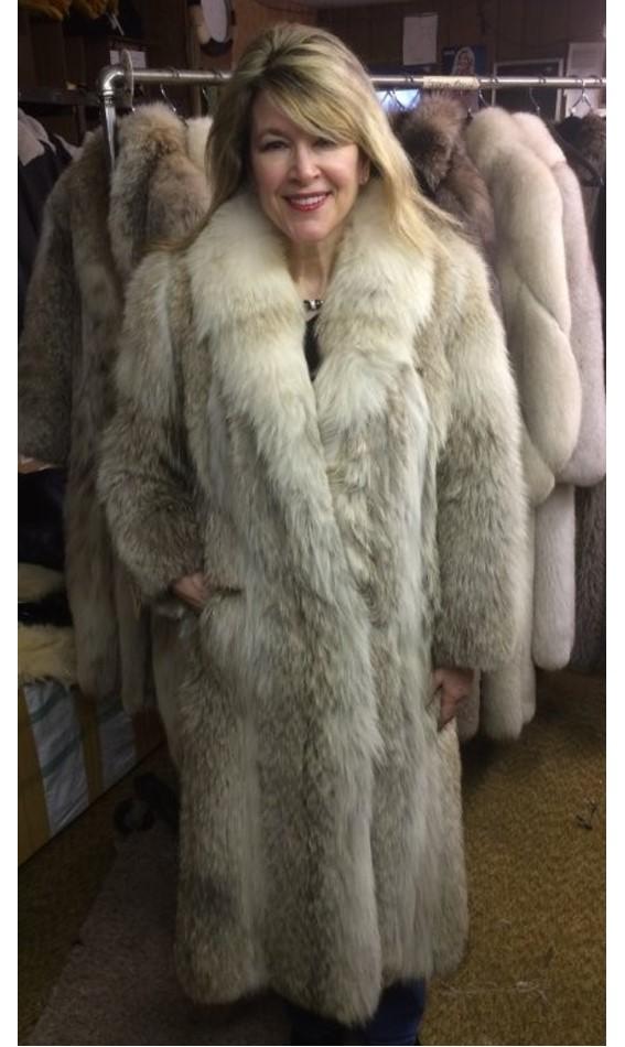 Coyote Fur Coat >> Coyote Fur Coat Sickafus Sheepskins Shearlings