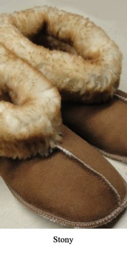 Women's Sheepskin Shearling Snuggies Slippers