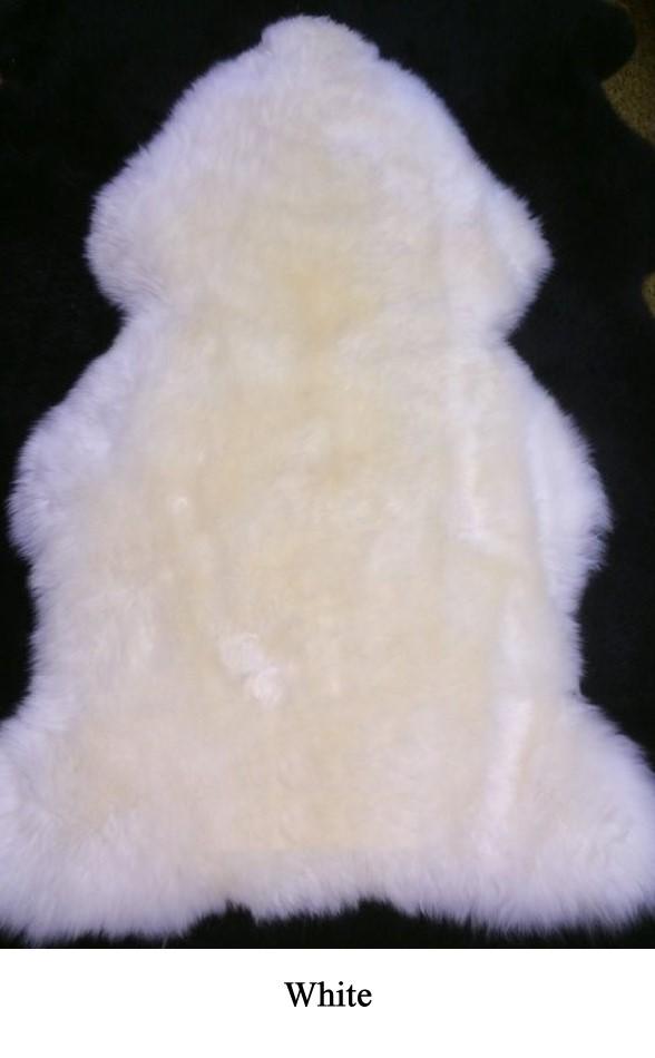 Two Sheepskins Sewn Together Jumbo Skins Sickafus