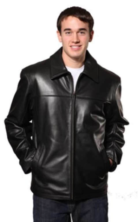 86c798e5729 Men s Quality Lamb Leather Jacket with a zip out liner